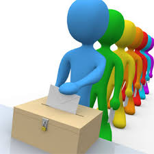Voters and Ballot Box